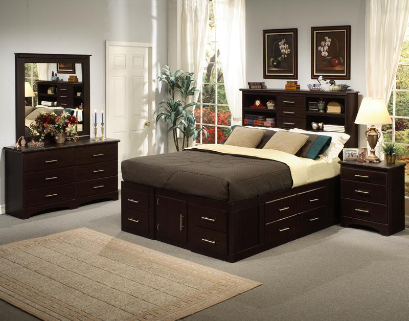 Matrimonio Bed Queen : Chest bed ortega s furniture